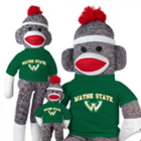 Wayne State Sock Monkey