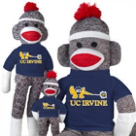 UC Irvine Sock Monkey