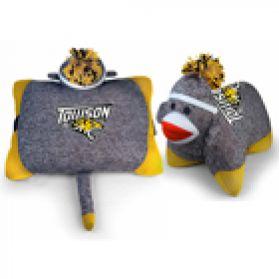 Towson Sock Monkey Pillow