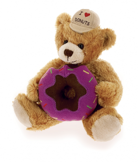 I Love Donuts Bear