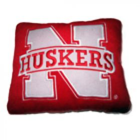 Nebraska Logo Pillow