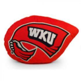 Western Kentucky Logo Pillow