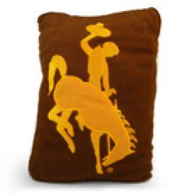 Wyoming Logo Pillow