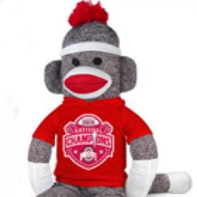 2014 Ohio State Nat'l Championship Sock Monkey 40
