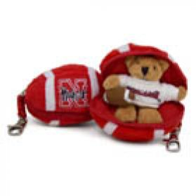 Nebraska Football Keychain