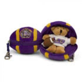 LSU Football Keychain