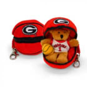 Georgia Basketball Keychain