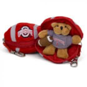Ohio State Football Keychain