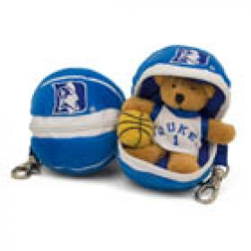 Duke Basketball Keychain