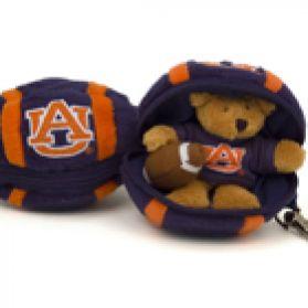 Auburn Football Keychain