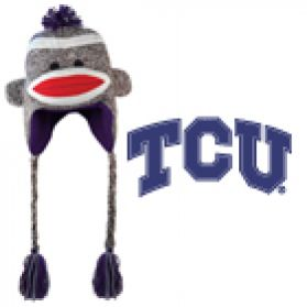 TCU Sock Monkey - Hat