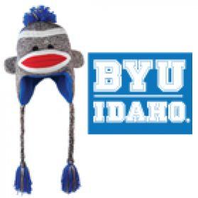 BYU-Idaho Sock Monkey Hat