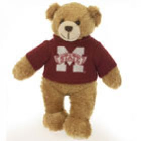 Mississippi State Sweater Bear