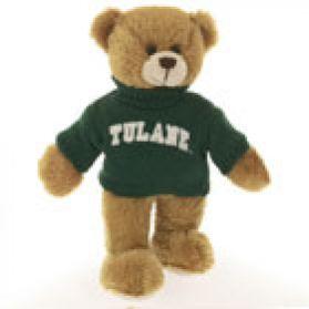Tulane Sweater Bear