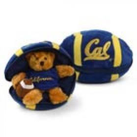 Cal Berkeley Zipper Football