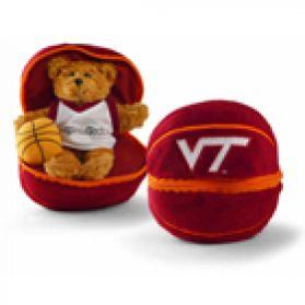 Virginia Tech Zipper Basketball - 8