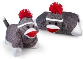 Sock Monkey Pillow - Original