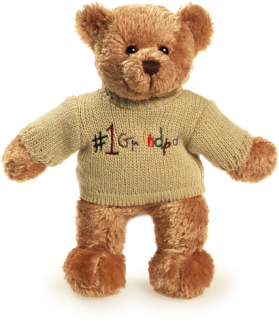 #1 Grandpa Sweater Bear