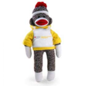 School & Youth Hoodie Sock Monkey