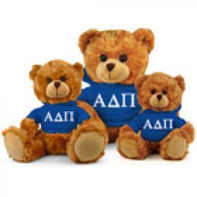 Alpha Delta Pi Hoodie Bear