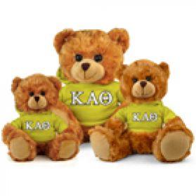 Kappa Alpha Theta Hoodie Bear