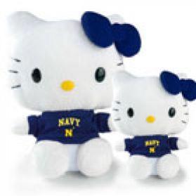 Naval Academy Hello Kitty