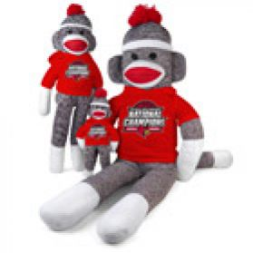 2013 Louisville Champ Sock Monkey