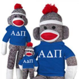 Alpha Delta Pi Sock Monkey