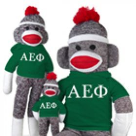 Alpha Epsilon Phi Sock Monkey
