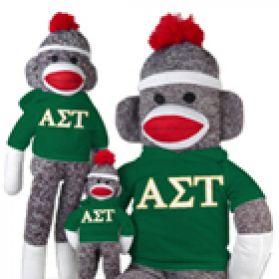 Alpha Sigma Tau Sock Monkey