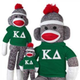 Kappa Delta Sock Monkey