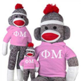 Phi Mu Sock Monkey