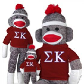 Sigma Kappa Sock Monkey