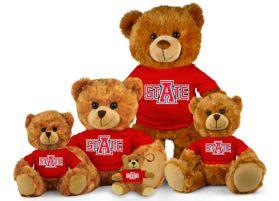 Arkansas State Jersey Bear