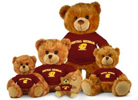 Central Michigan Jersey Bear