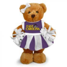 East Carolina Cheerleader Bear