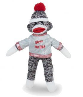 New Year Sock Monkey, 8