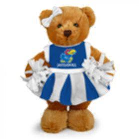 Kansas Cheerleader Bear