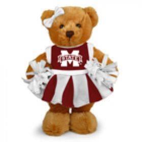 Mississippi State Cheerleader Bear