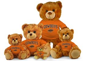 Oklahoma State Jersey Bear
