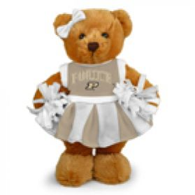 Purdue Cheerleader Bear