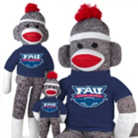 Florida Atlantic Sock Monkey