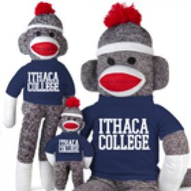 Ithaca College Sock Monkey