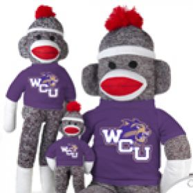 Western Carolina Sock Monkey