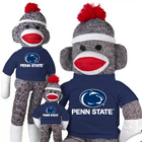 Penn State Sock Monkey