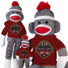 2013 FSU Nat'l Championship Sock Monkey