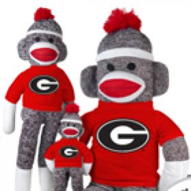 Georgia Sock Monkey