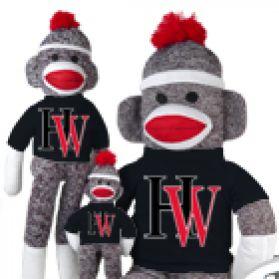Harvard Westlake Sock Monkey
