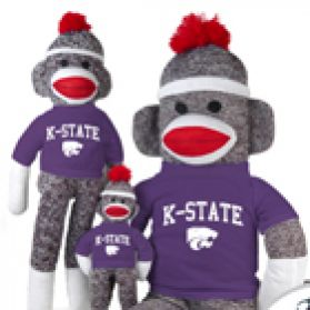 Kansas State Sock Monkey