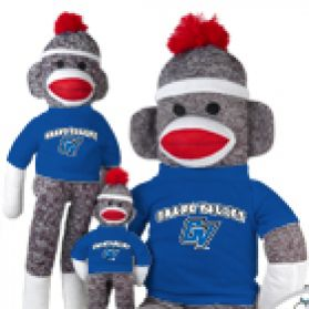 Grand Valley State Sock Monkey